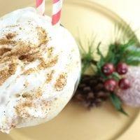 Boozy Eggnog Milkshake Recipe