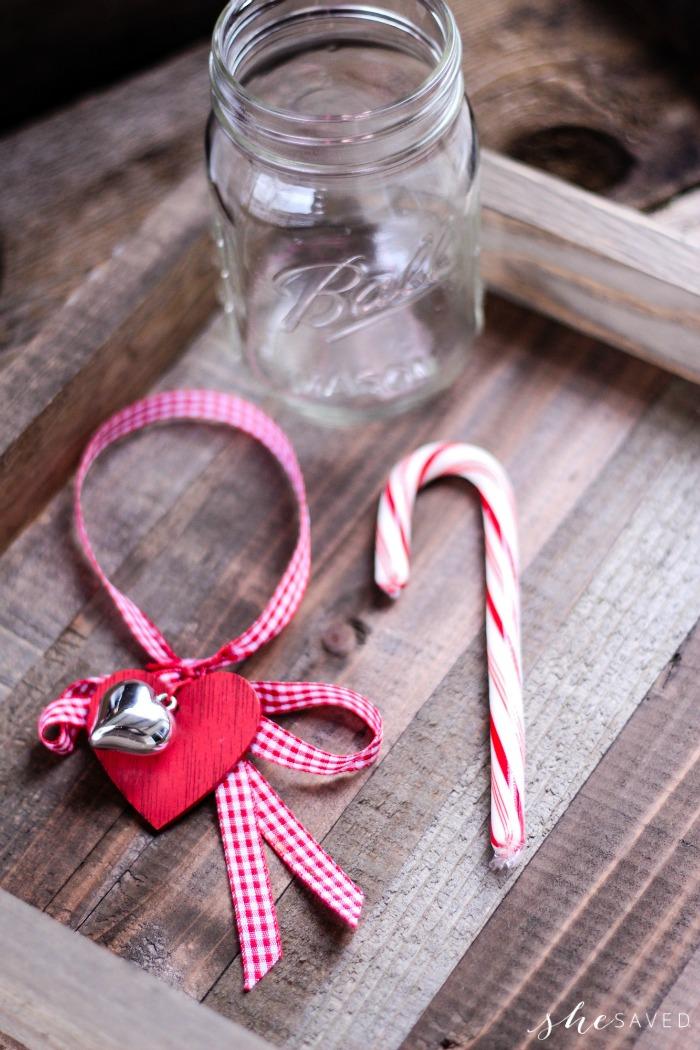 Christmas Cheer Mason Jar Craft