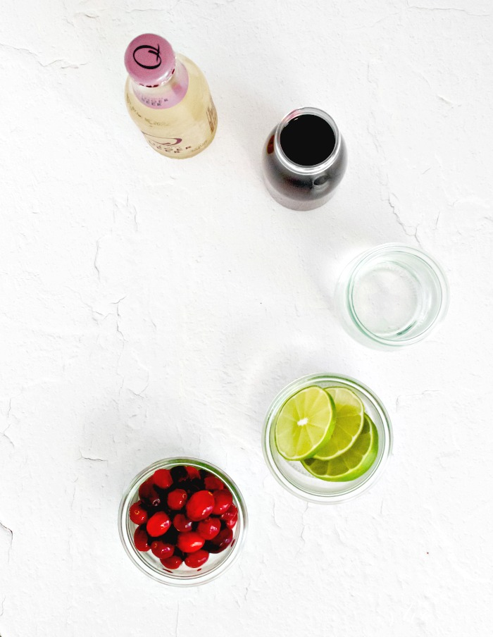 Cranberry Moscow Mule Ingredients