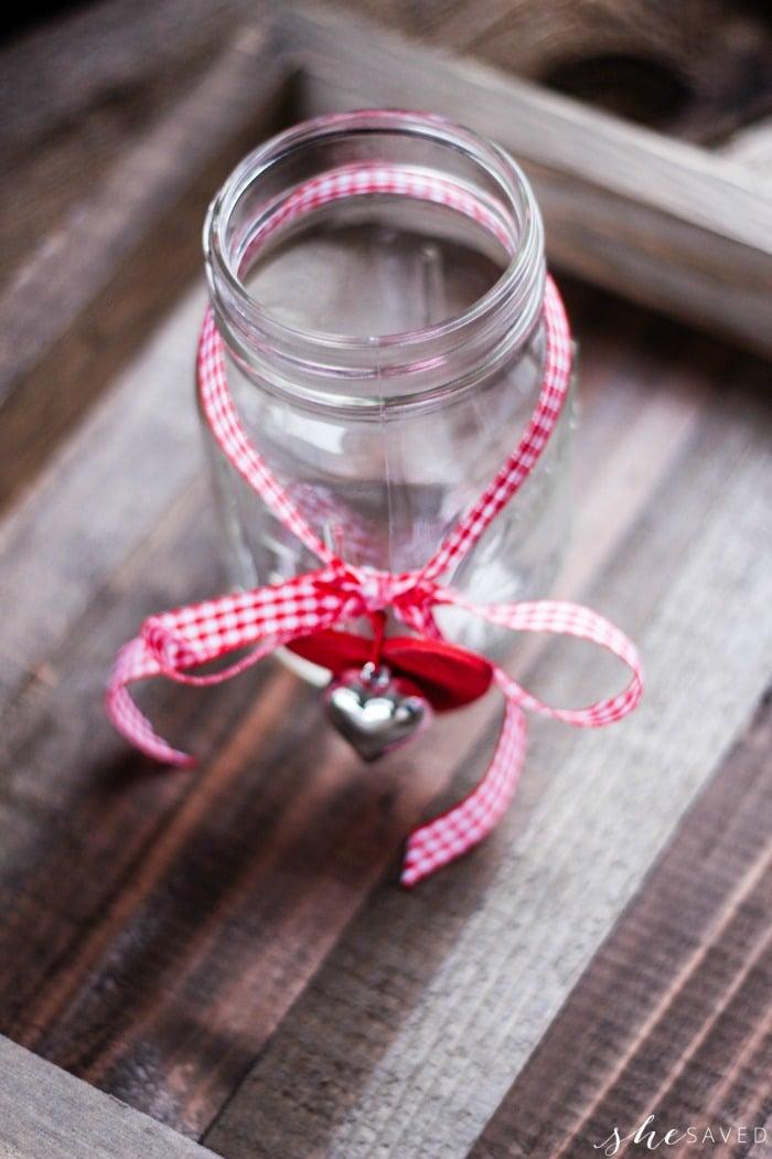 Cute Holiday Mason Jar Beverage