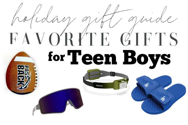Gift Ideas for Teen Boys