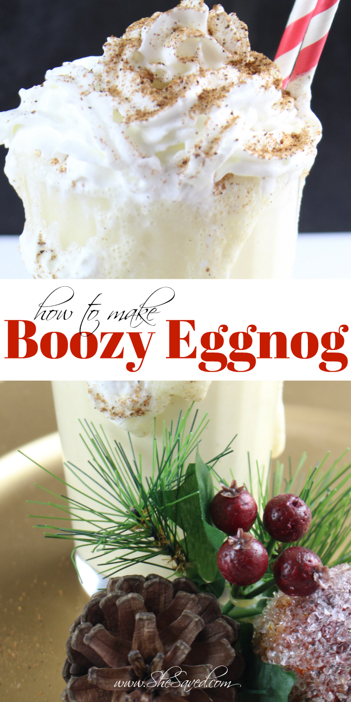 How to Make Boozy Eggnog