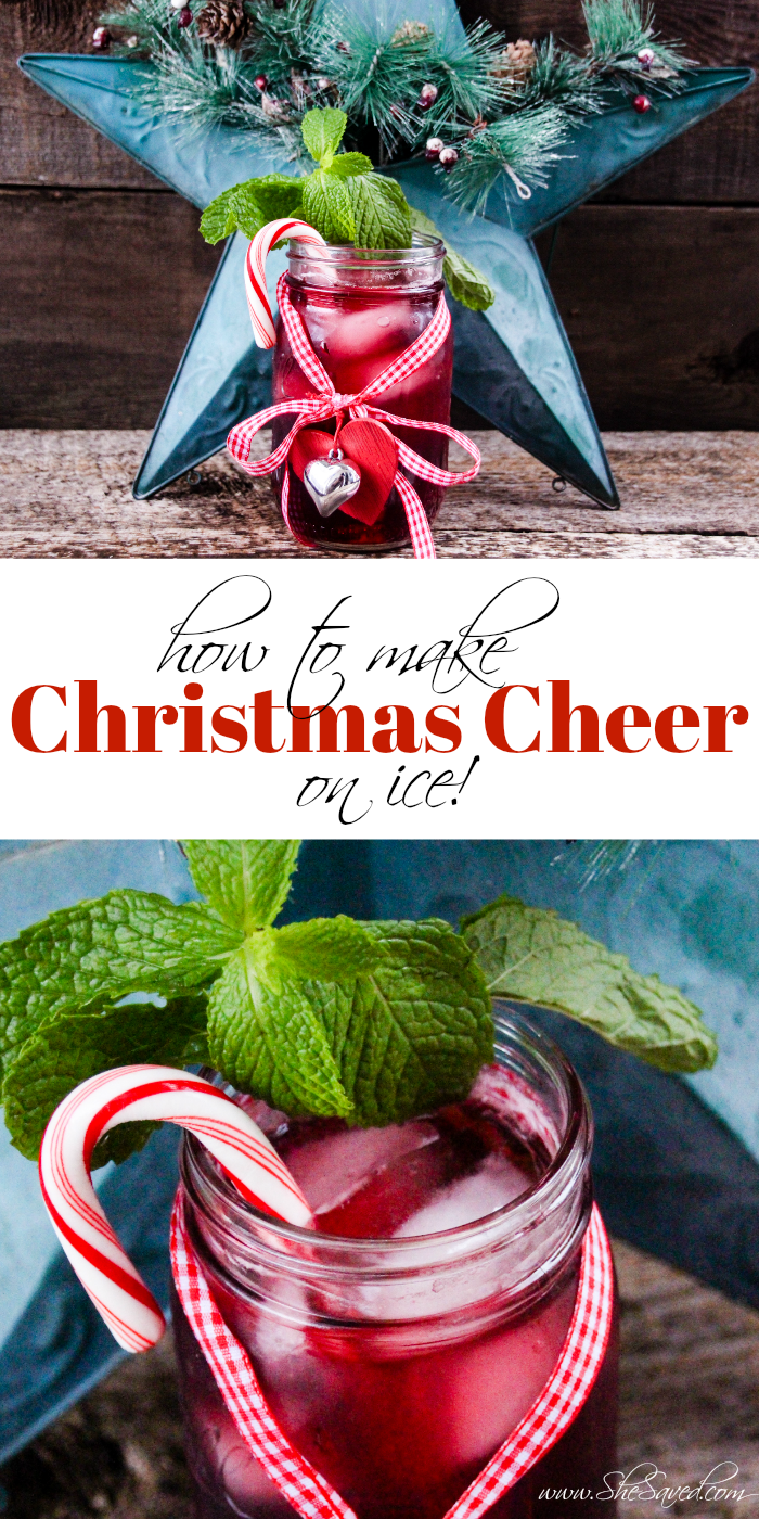 Izze Drink Recipe Red Christmas Cheer