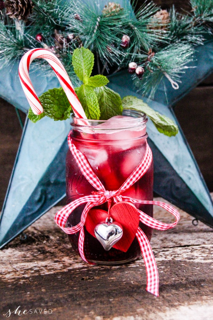 Izze Holiday Drink Recipe for Holiday Cheer Beverage