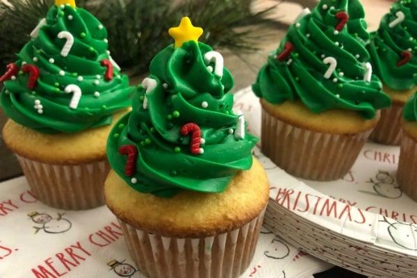 Tree Cupcake Christmas recipe
