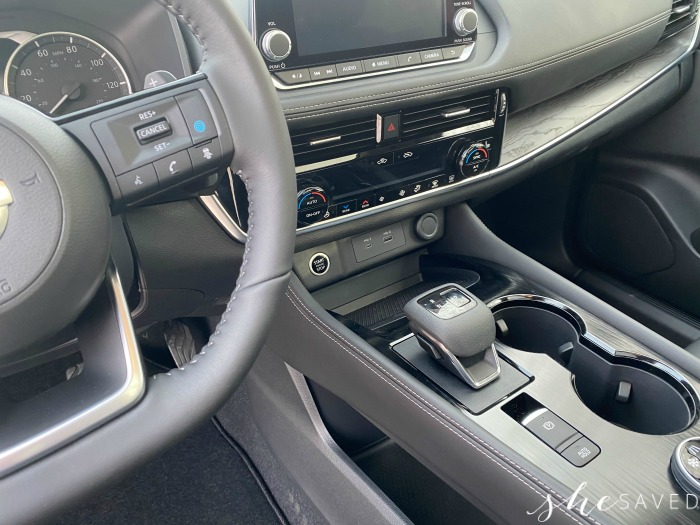 Nissan Rogue Console