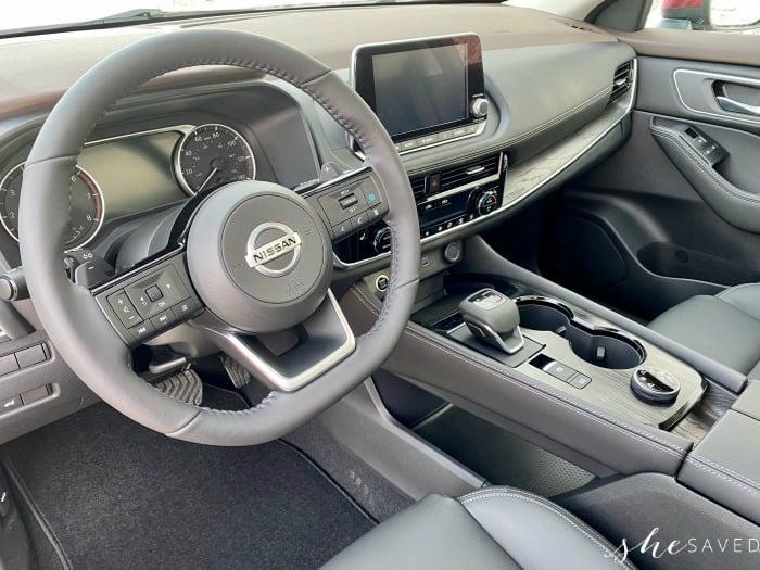 Nissan Rogue Front Dash