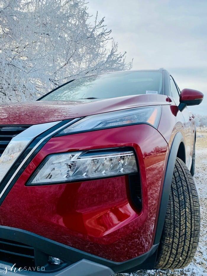Nissan Rogue Front Headlights