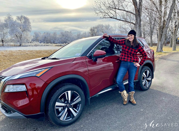 Taking the Nissan Rogue for a Drive