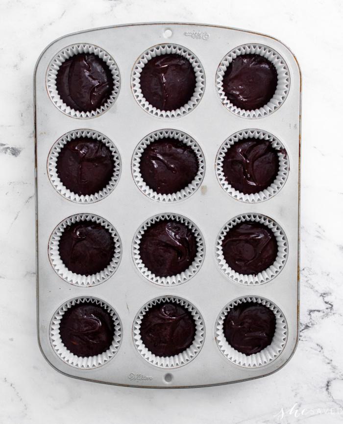Homemade Chocolate Cupcake Batter