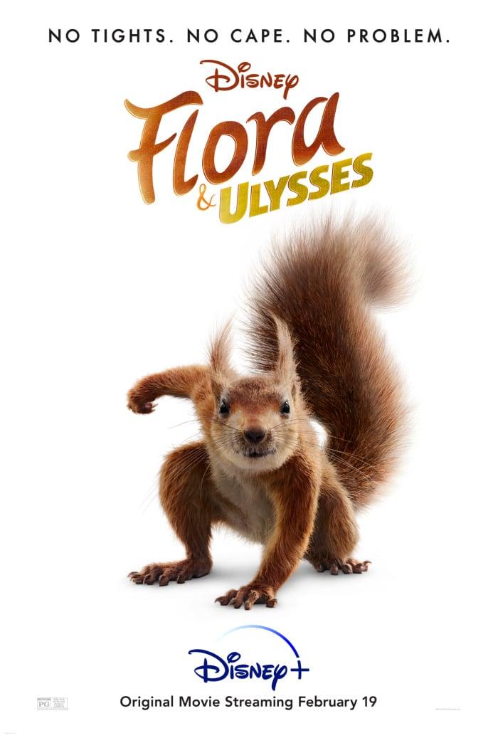 FLORA & ULYSSES Disney Movie