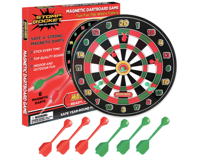 Magnetic Darts from the makers of stompin rockets
