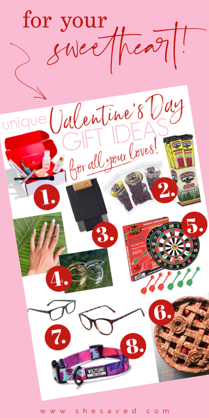 Unique Valentine's Day Gift Ideas for everyone on your list