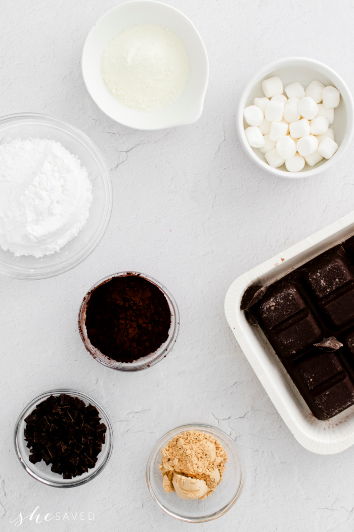 Homemade Chocolate Bomb Ingredients