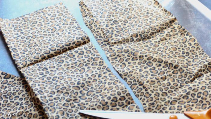 Cutting Fabric for Scrunchies