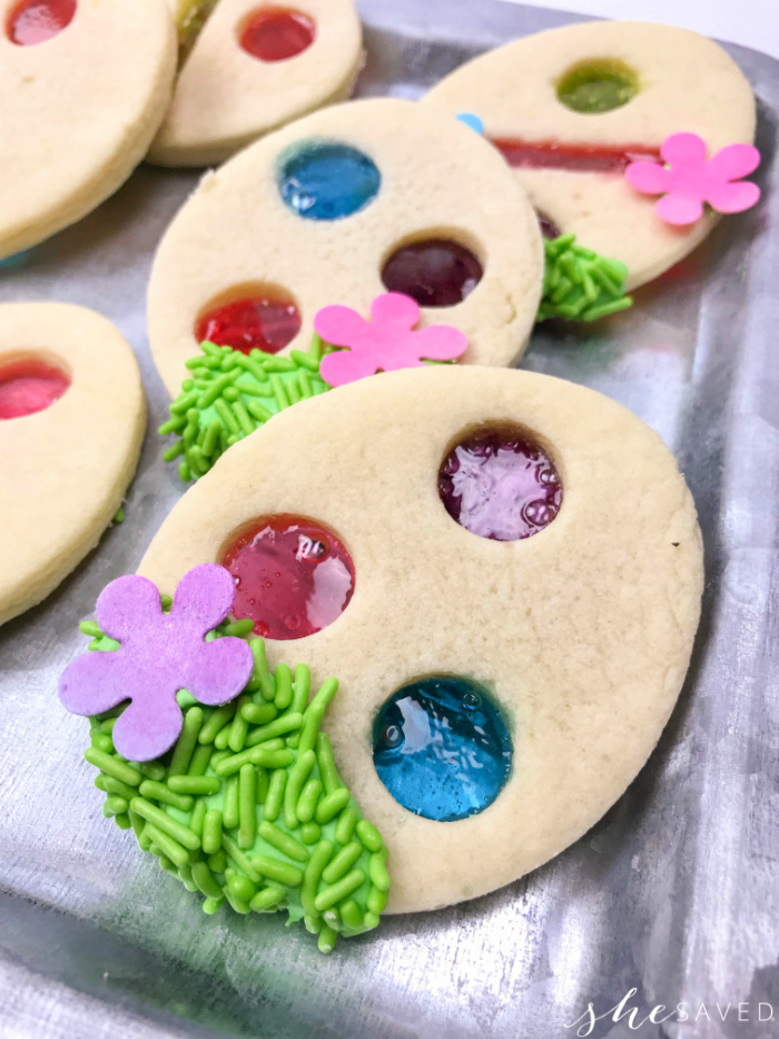 Easter Stained Glass Cookie
