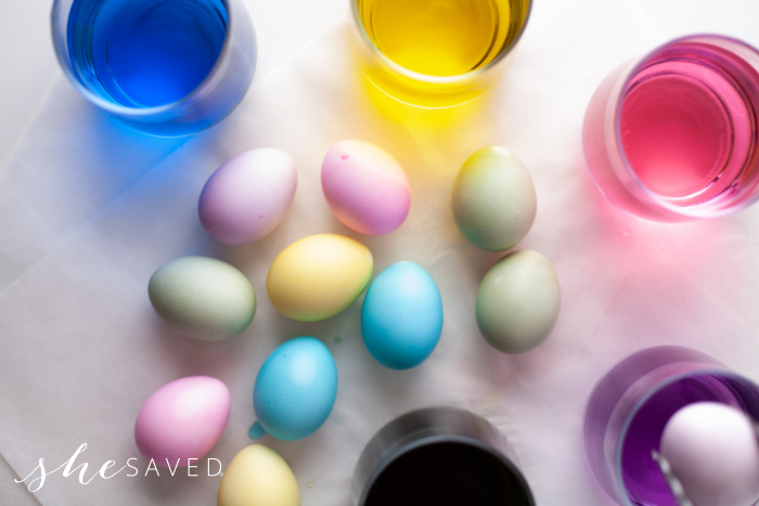 Easy Way to Color Easter Eggs
