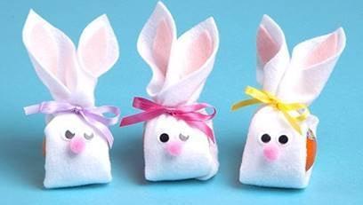Wonderful Halos Easter Bunnies Craft