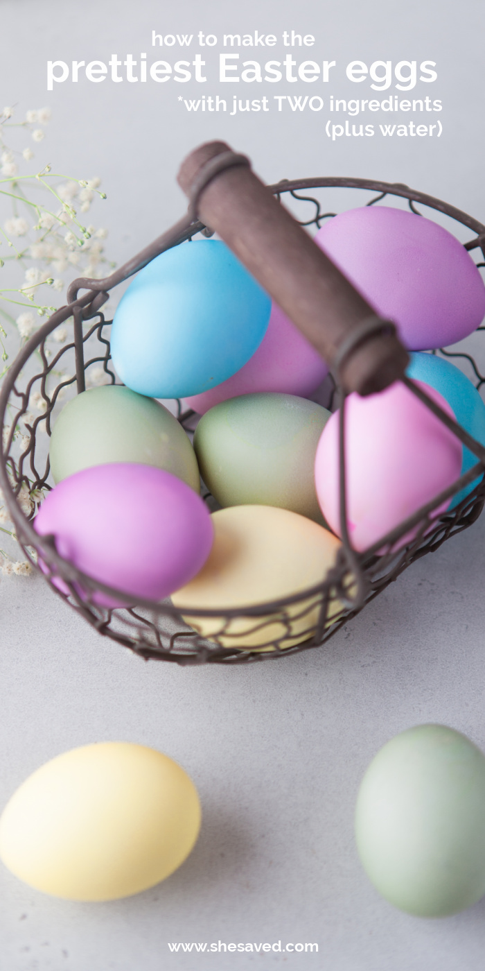 How to Make the Prettiest Easter Eggs