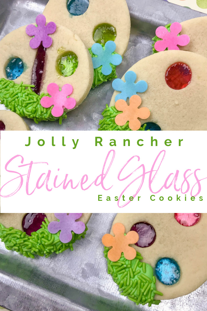Jolly Rancher Stained Glass Cookie Recipe for Easter