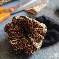 DIY No Sew Scrunchie Craft
