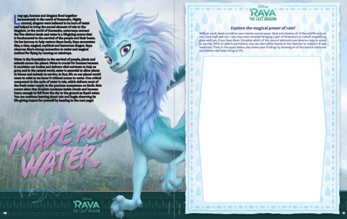 Raya and the Last Dragon free printable