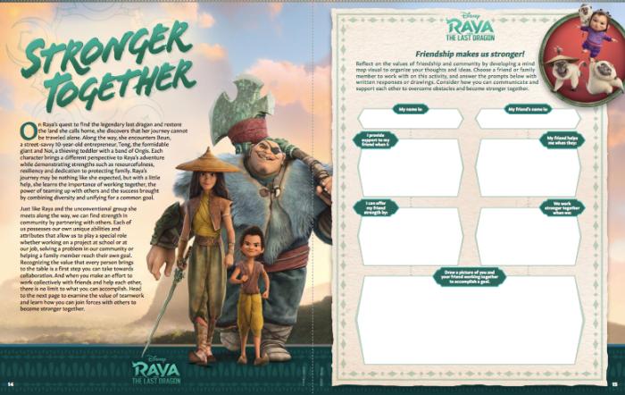 Raya and the Last Dragon worksheet