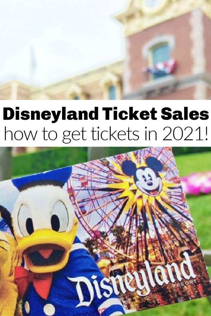Disneyland Ticket Sales Live NOW on April 15th 2021