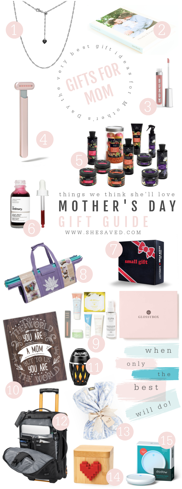 Mother's Day Gift Ideas Guide 2021 full of wonderful and unique and affordable gift ideas for Mom