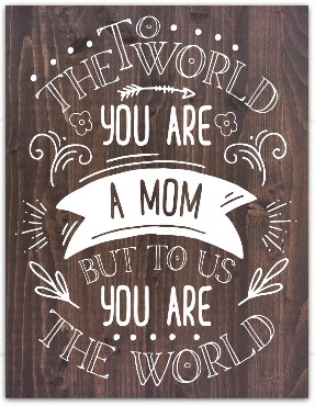 mom sign from dream big printables