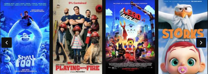 2021 Regal Cinemas $1 Summer Movie