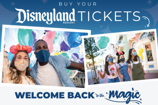 Buy Disneyland Tickets NOW at a discount