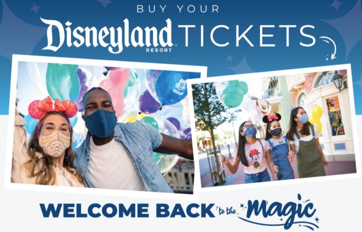 Buy Disneyland Tickets NOW