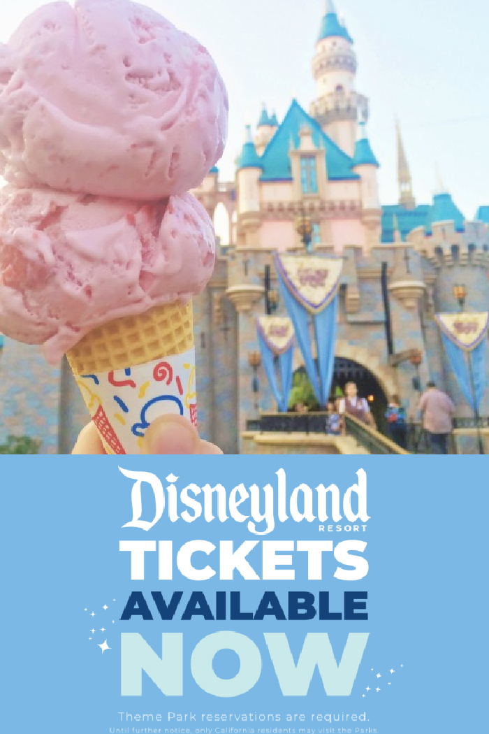 Buy Your Disneyland Tickets NOW for your next visit to Disney and California Adventure