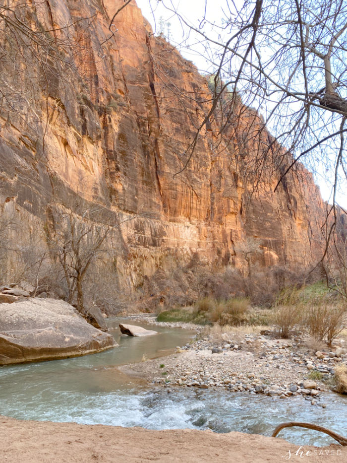 Tips for your Hike to the Narrows Zion National Park