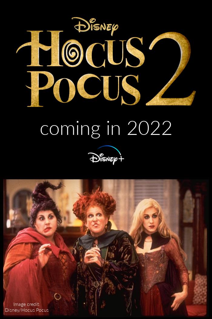 Hocus Pocus 2 on Disney Plus in 2022