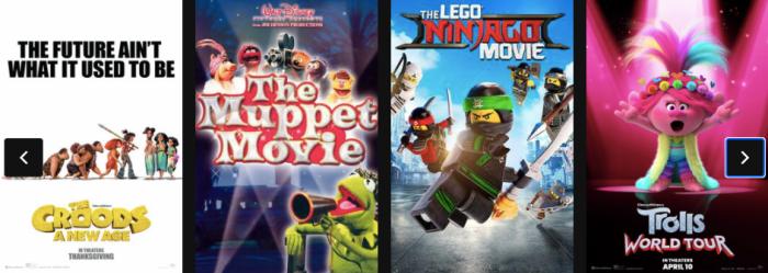 Regal Cinemas $1 Movie Schedule