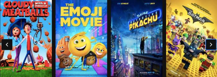 Regal Cinemas $1 Summer Movie Calendar