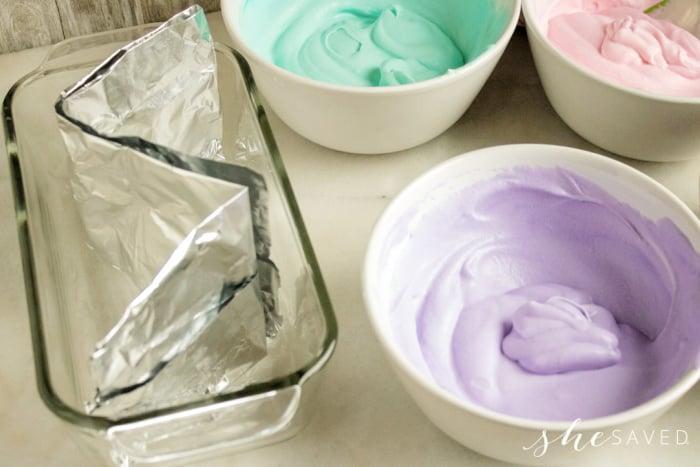 Unicorn Ice Cream Colors