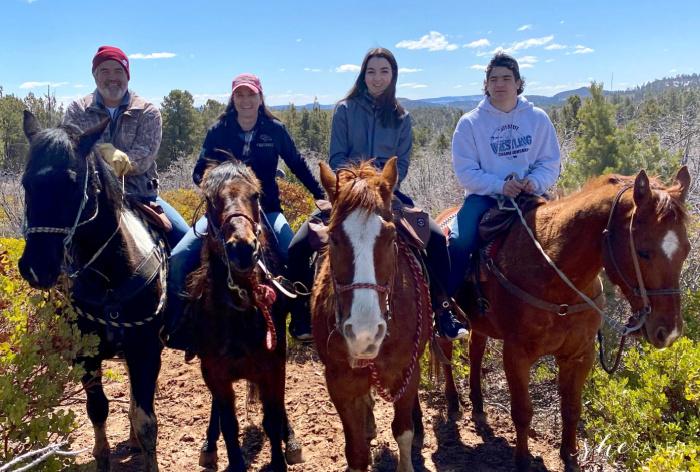 Zion Ponderosa Horseback Riding