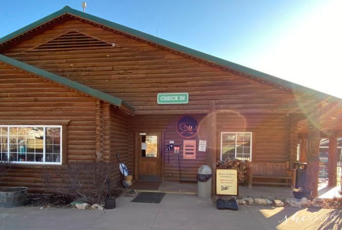 Zion Ponderosa Lodge Restaurant