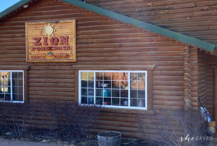 Zion Ponderosa Lodge