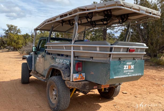Zion Ponderosa Ranch Jeep Tours