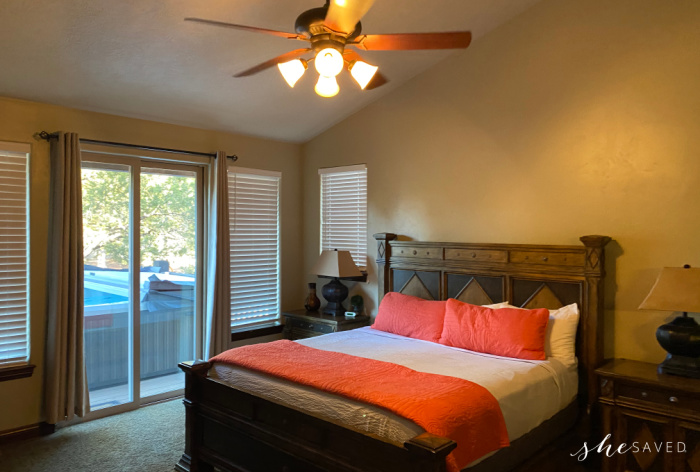 Zion Ridge Vacation Rental Bedroom