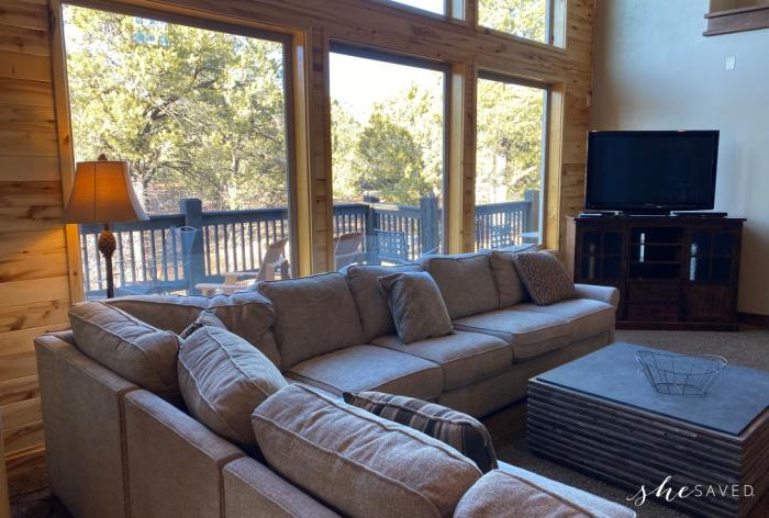 Zion Ridge Vacation Rental Living Room