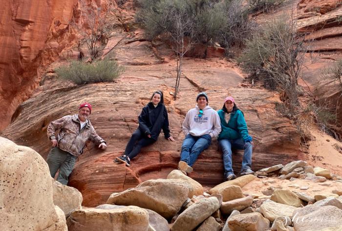 Zion Slot Canyon Hike Family Adventure