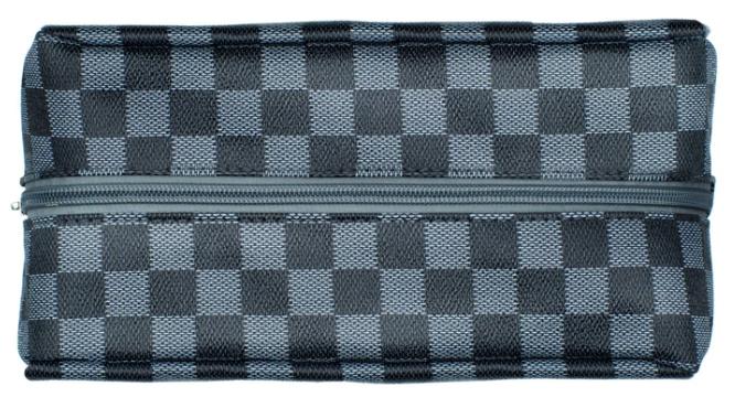 Checkered Men's Dopp Kit