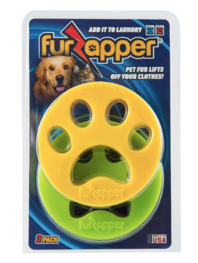 Pet Products Packaging of FurZapper Pet Hair Remover Tool