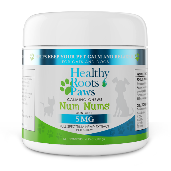 Healthy Roots Paws CBD chews for Dogs with Anxiety