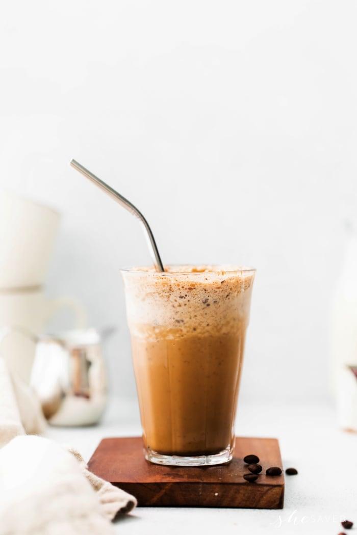 How to Make a Starbucks Java Chip Frap